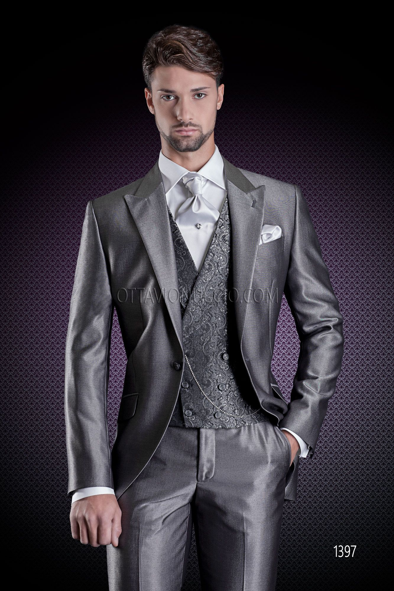 jacket+pants+vest+tie K:1385 Special Buy New Arrival Mens Dinner Party Prom Suits Groom Tuxedos Groomsmen Wedding Blazer Suits