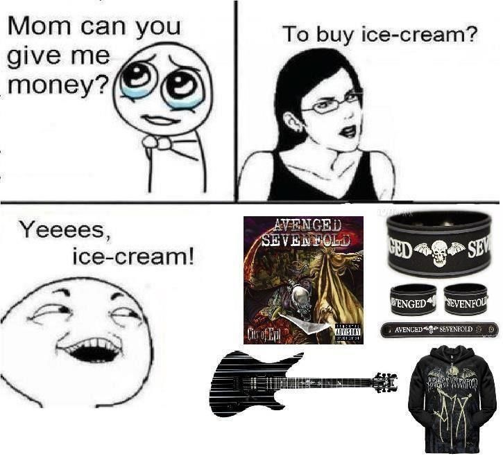 Oh yeah... it's for important stuff... #A7X