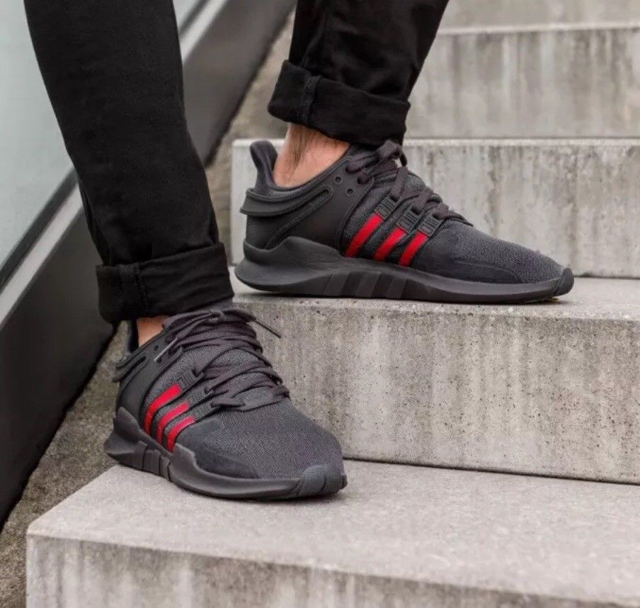 4f97269b17429 ADIDAS EQUIPMENT EQT SUPPORT ADV BLACK RED GREEN GUCCICOLORS NEW (BB6777)   fashion  clothing  shoes  accessories  mensshoes  athleticshoes (ebay link)