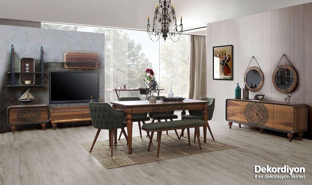 Yemek Odaları için Dekorasyon Fikirleri Yemek odası