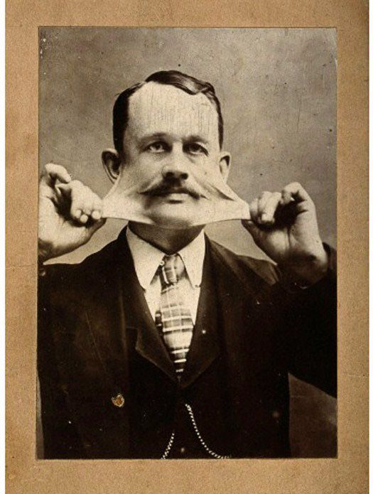 Some really great oddity photos on this site. Portrait of ...