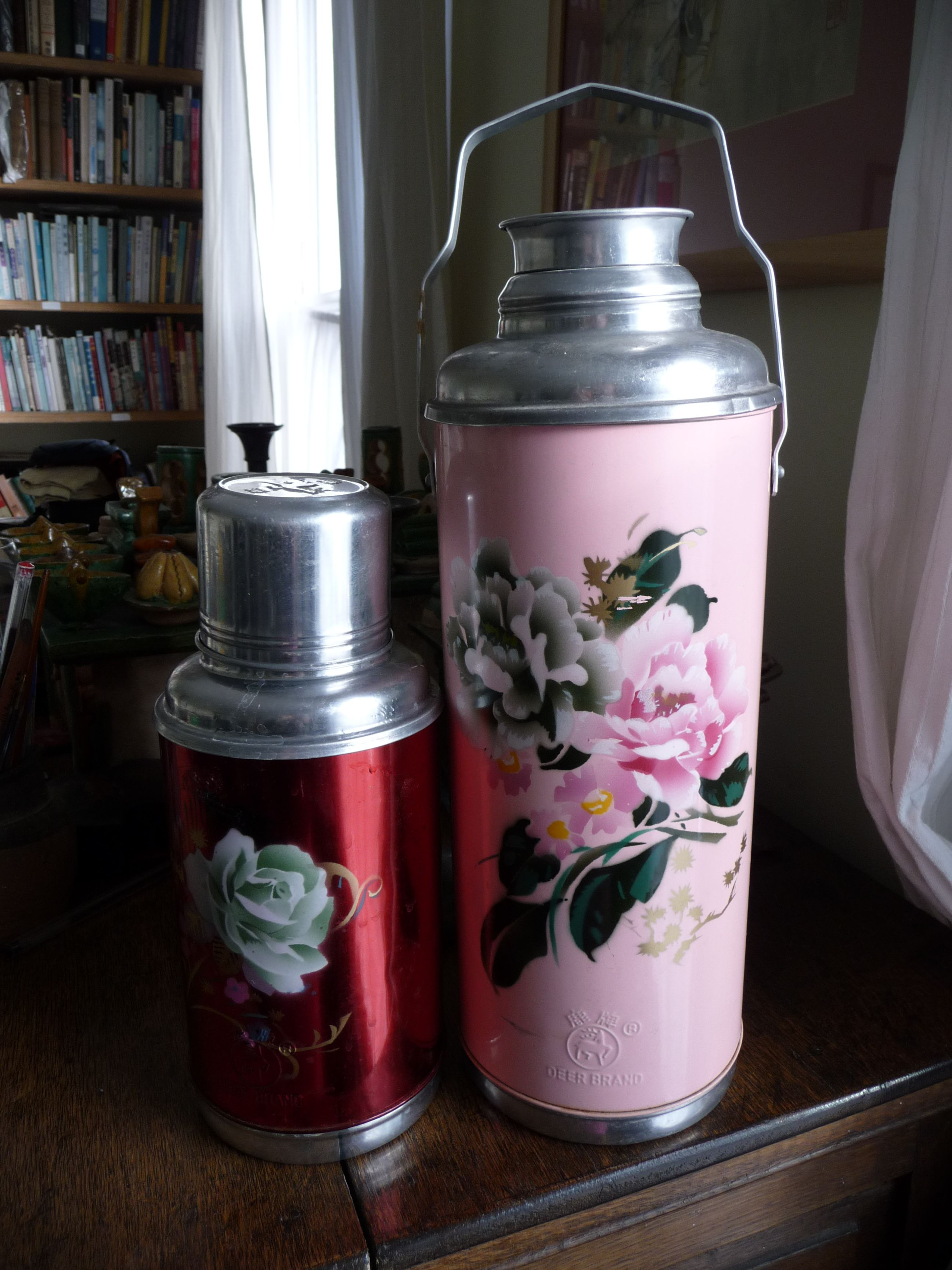 Old Fashioned Thermos Flask