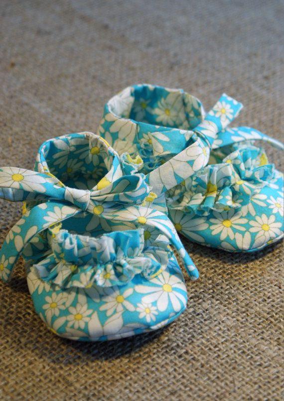 Ruffy Baby Shoes - PDF Pattern - Newborn to 18 months | Bebé ...