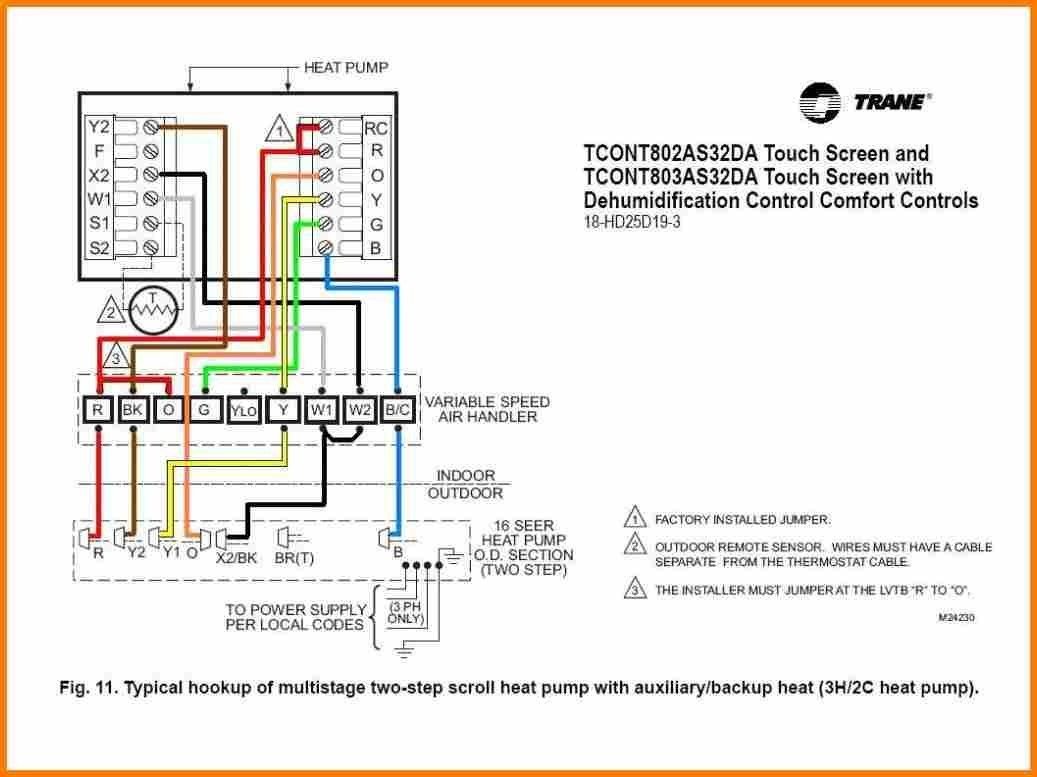 rheem heat pump thermostat wiring diagram in 2020