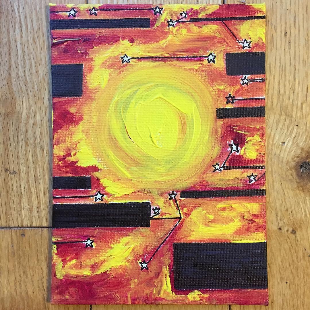 "Sun  Stars :: ""No longer in service to perfection -- I am free to create."" #winterisforhealing #createlikeagoddess #janaecharlotte #slowasaspiritualpractice #paintandinkportal by janaecharlotte"
