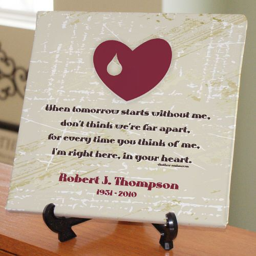Unique Sympathy Gifts Personalized Right Here In Your