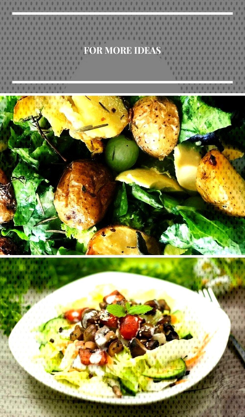 Sehr leckerer gemischter Salat mit Brocoli, Avocado, Trauben und Rosmarin und Thymian ... Sehr leck
