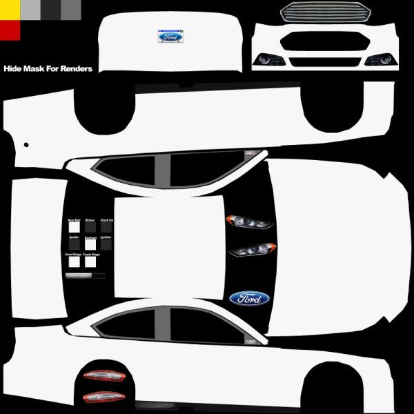 Thank you very much to visit page about Blank Nascar Template ...