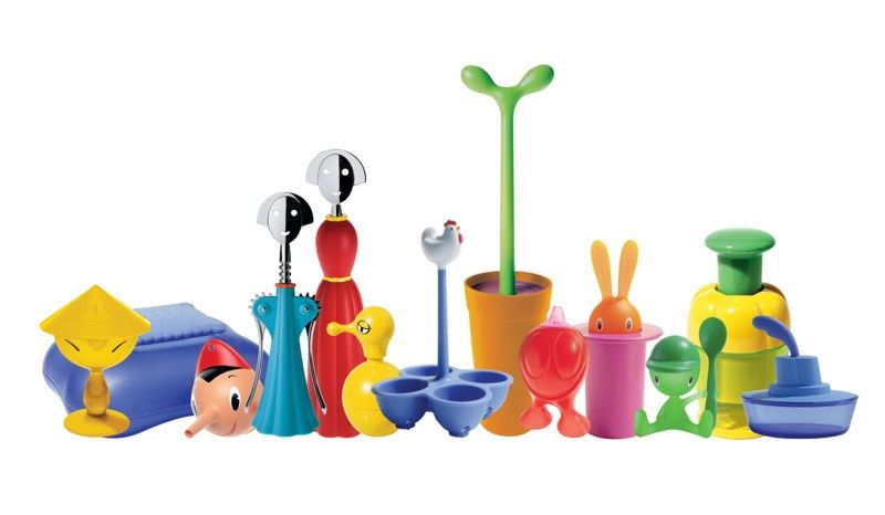 Awesome alessi cuisine objets ustensiles couleurs with for Ustensiles de cuisine design original