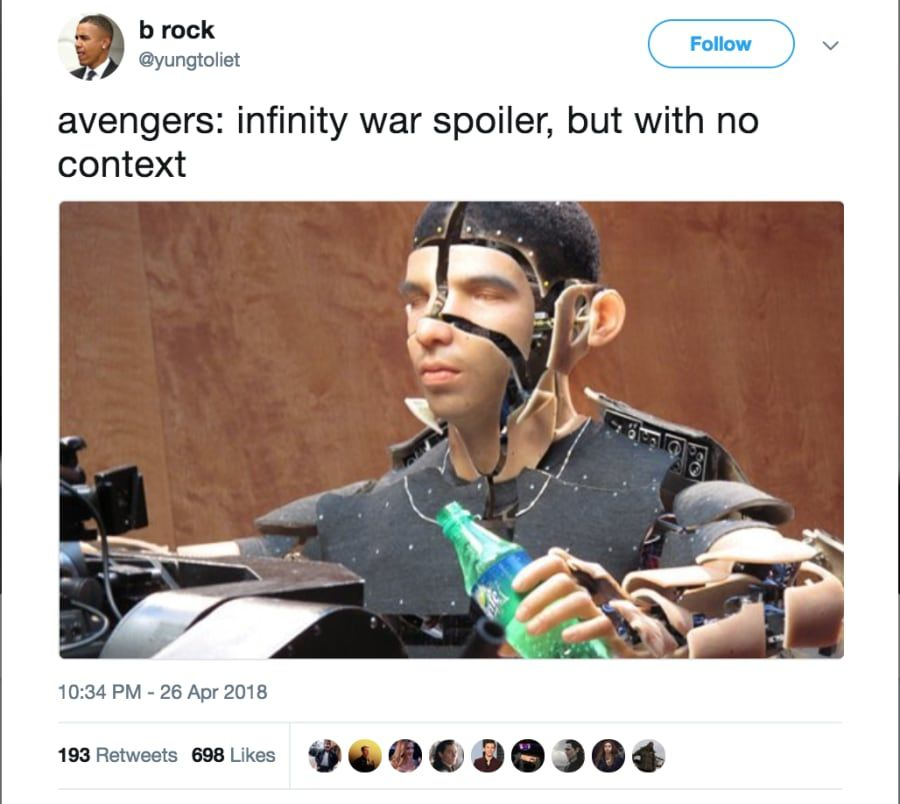 17 Devastating Avengers Infinity War Spoilers Presented With Zero Context Marvel Funny Marvel Movies Marvel Memes