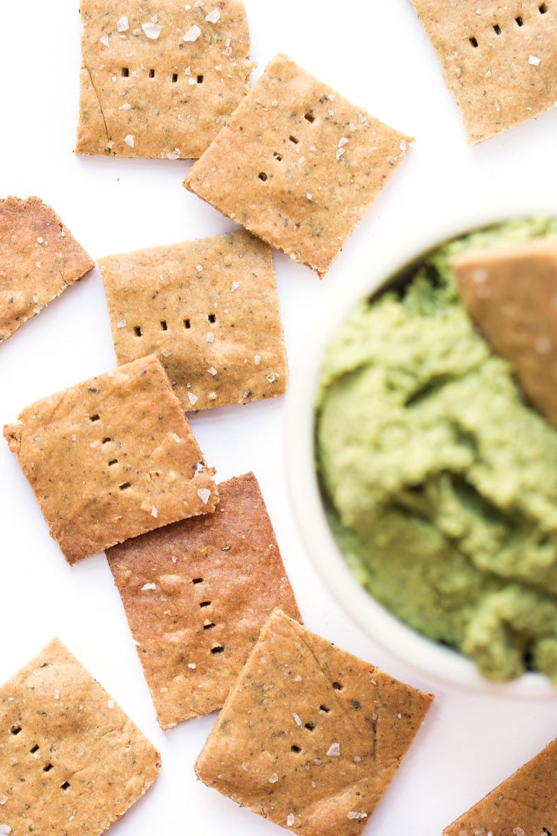 How to make healthy quinoa crackers