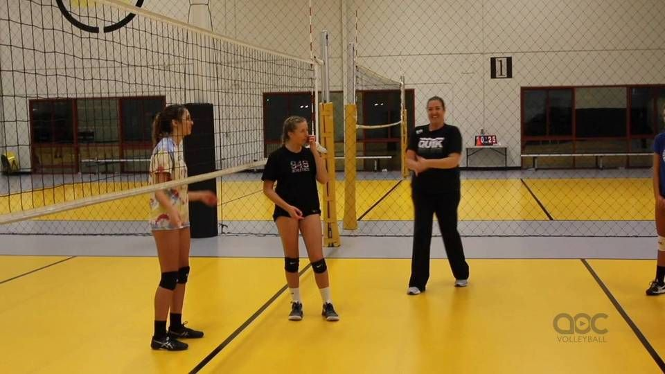 Ball Setter Ball Hitter Drill With Cary Wallin Coaching Volleyball Volleyball Volleyball Practice