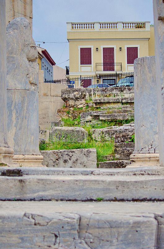 Athenes 140 Agora Romaine Rwmaikh Agora Roman Agora Places To