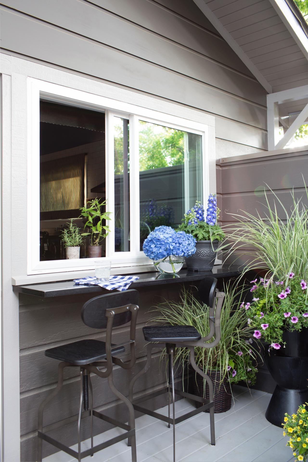 Artistic View Of Hgtv Urban Oasis 2015 Pass Through Window Kitchen Window Bar New Homes
