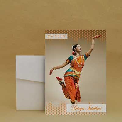 Feel the Rhythm Arangetram Invitation Cards Inksedge arangetram
