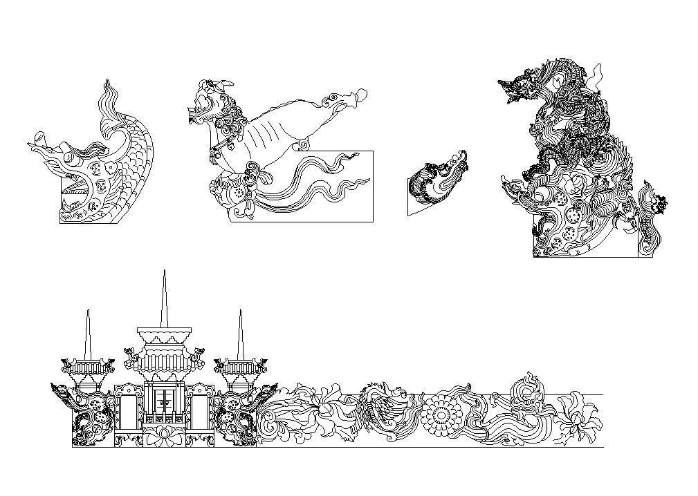 Free Chinese Decorative Elements V6