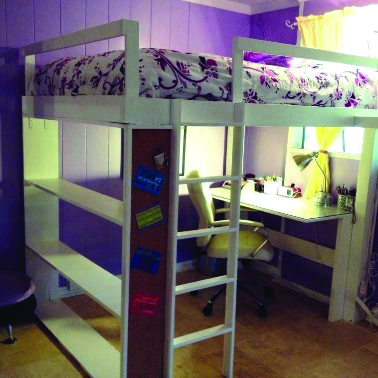 8 Loft Bed Tips for Your Small Room (Dengan gambar)