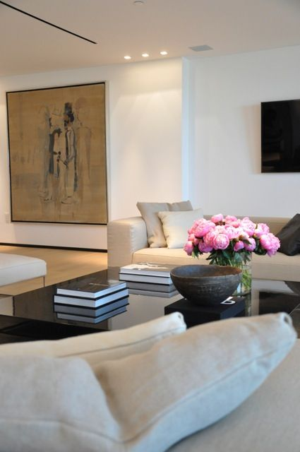 Two Story Apartment At Ocean House In Miami Beach Designed By Briggs Edward  Solomon And Featured