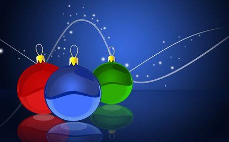 Christmas Balls, one of 20 awesome photoshop Christmas theme