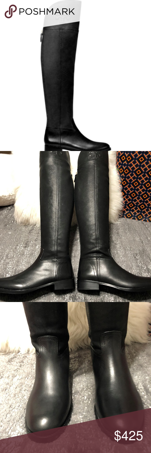 bd6df699532 Tory Burch Women s Simone Over The Knee Boot 7 I received these as a gift  for