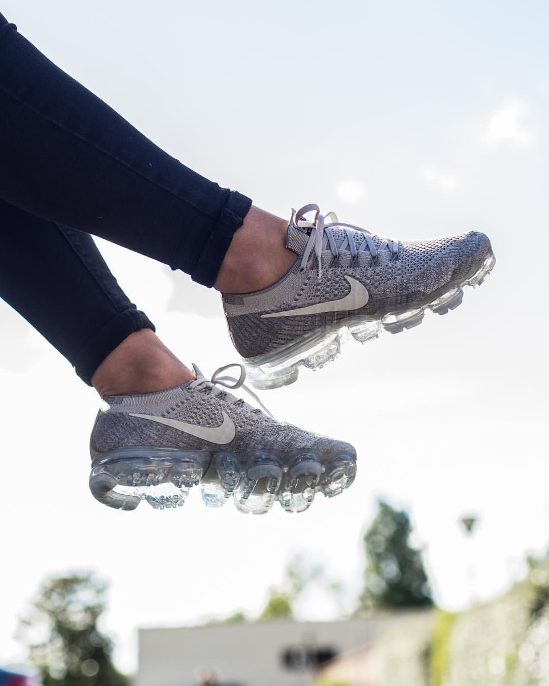 reputable site 34116 ae463 Nike Air Vapormax Flyknit  Pale Grey
