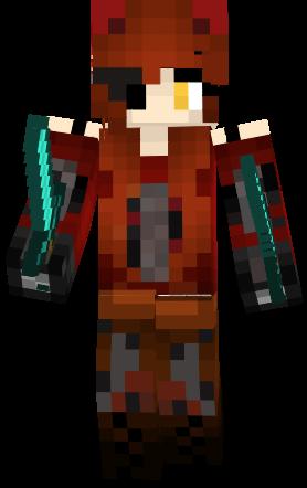 Foxy Girl Fnaf Minecraft Skins Pinterest Minecraft Skins