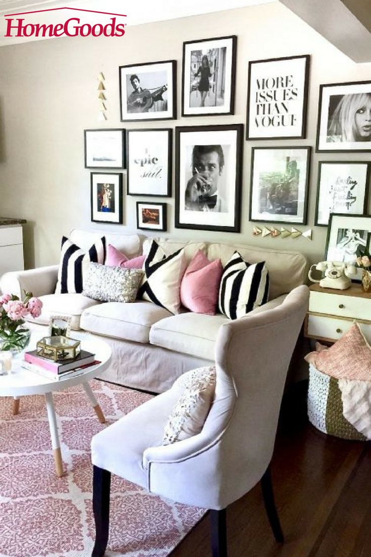 Pretty in pink an apartment refresh ideas para - Carrillo decoracion ...