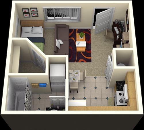 400 Sq Ft Studio Apartment Floor Plan Google Search Apartment Floor Plans Apartment Floor Plan Apartment Layout