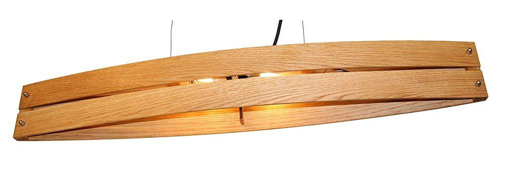 Hängeleuchte CANOT - Pendelleuchte aus Holz mit ...