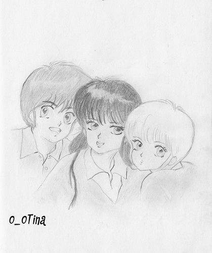 https://flic.kr/p/5WcdeF   E' quasi magia Johnny / Kimagure orange road   Kyosuke-Madoka-Hikaru Johnny-Sabrina-Tinetta