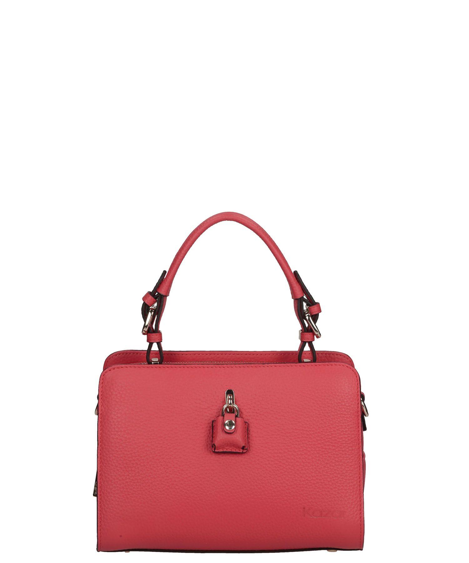 Rozowa Torebka Skorzana 25317 19923 01 05 Z Kolekcji 2015 Sklep Internetowy Kazar Bags Top Handle Bag Fashion
