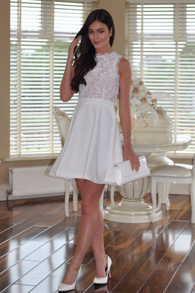 Mackenzie Cream Dress | Dresses | Pinterest | Skater style, Lace ...