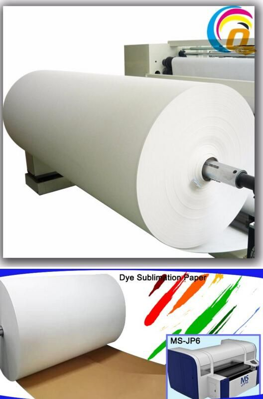 Non Curl #45g Fast Dry #Jumbo #Roll #Sublimation #Paper For