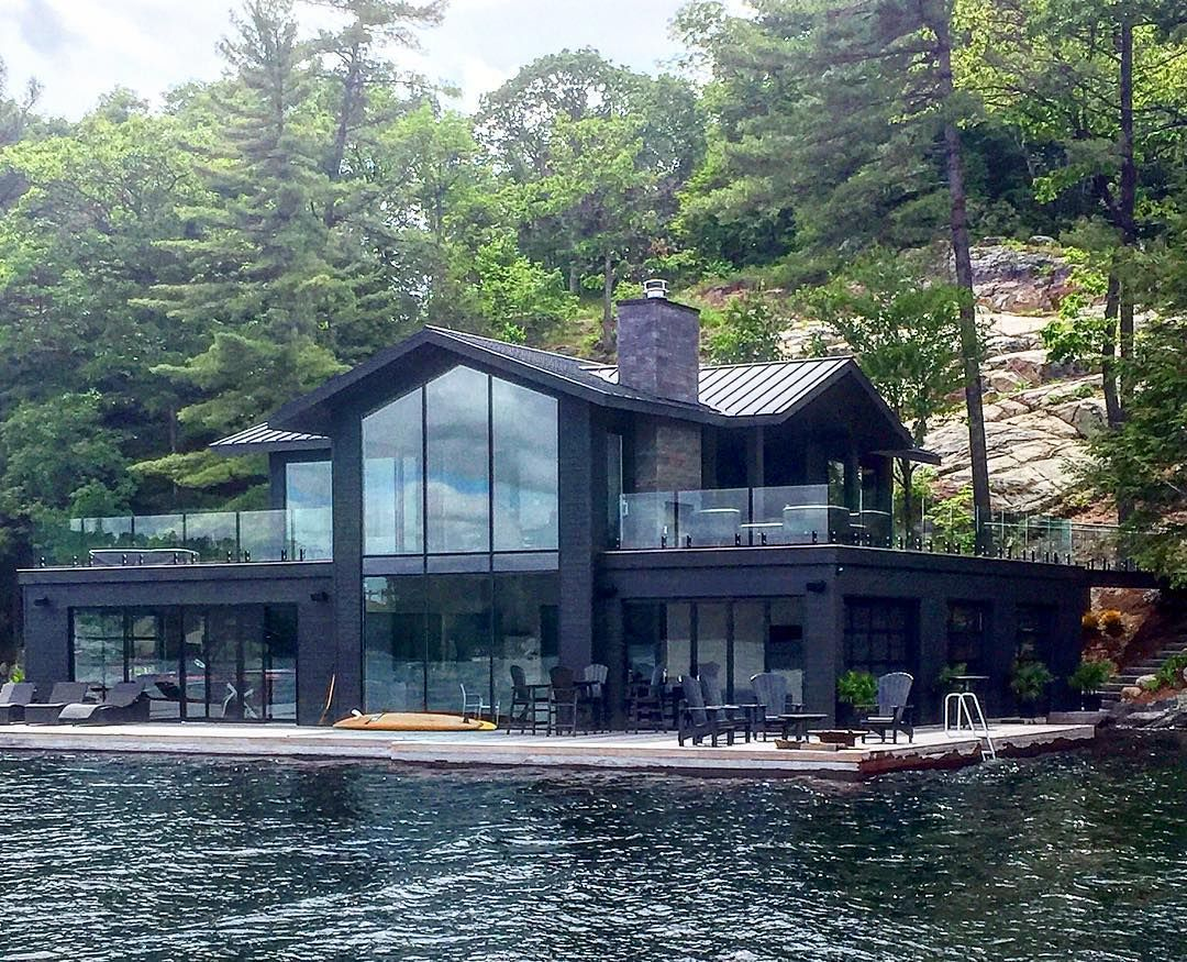 Today We Feature This Beautiful Modern Boathouse Designed By Our