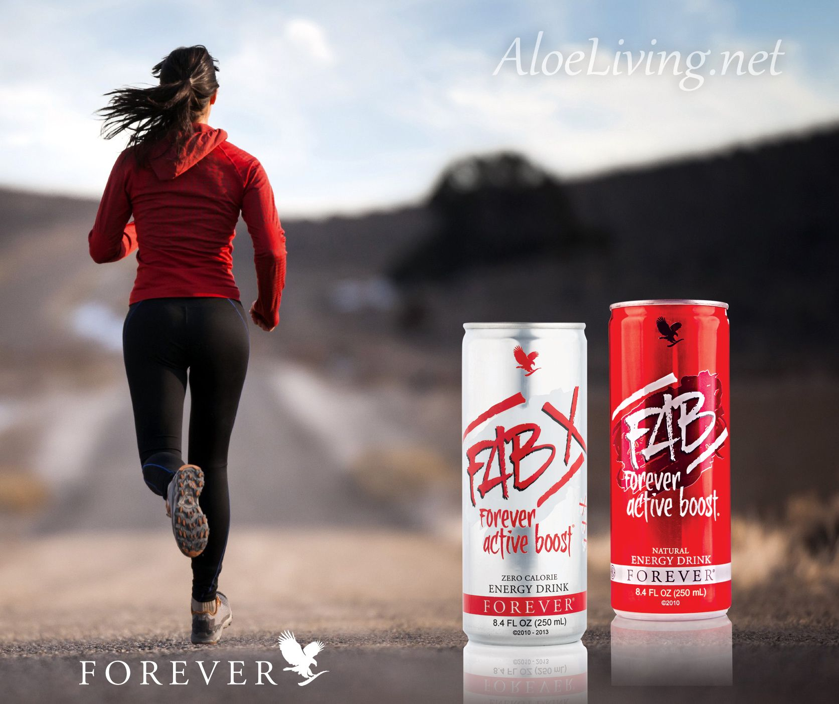 FAB X Forever Active Boost™ Energy Drink provides a