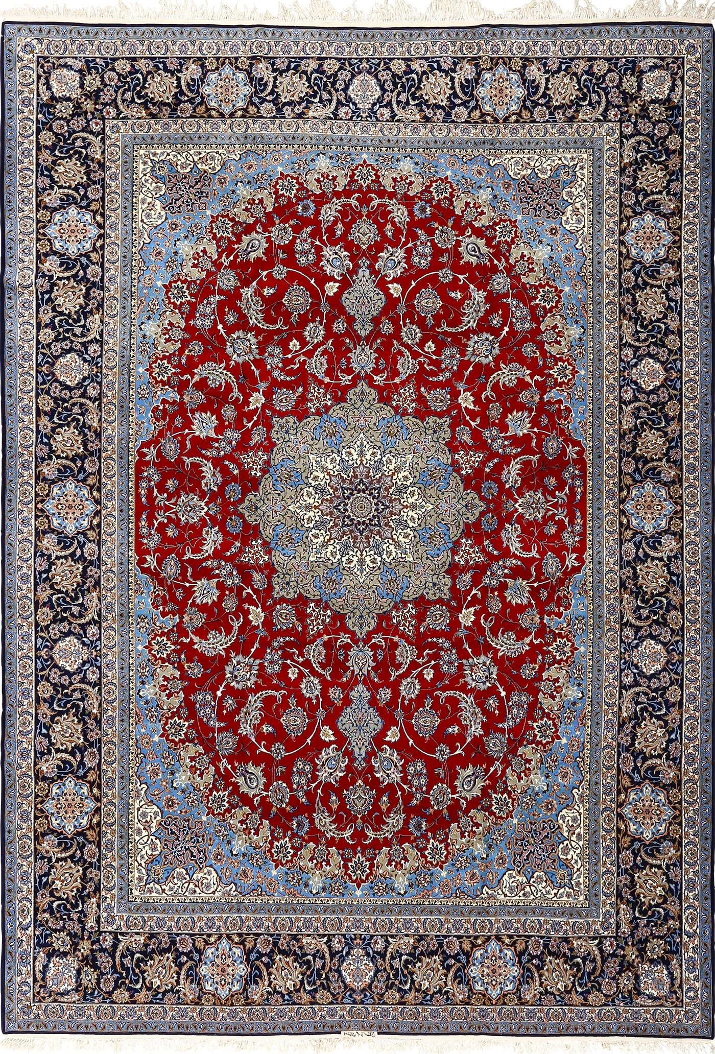 Vintage Red Background Isfahan Persian Rug 51090 Nazmiyal Vintage Persian Rug Persian Rug Modern Persian Rug