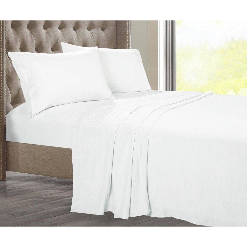 Twin Temperature Regulating Solid Sheet Set Charcoal Posh Home Grey Sheet Sets Home Soft Bed Sheets