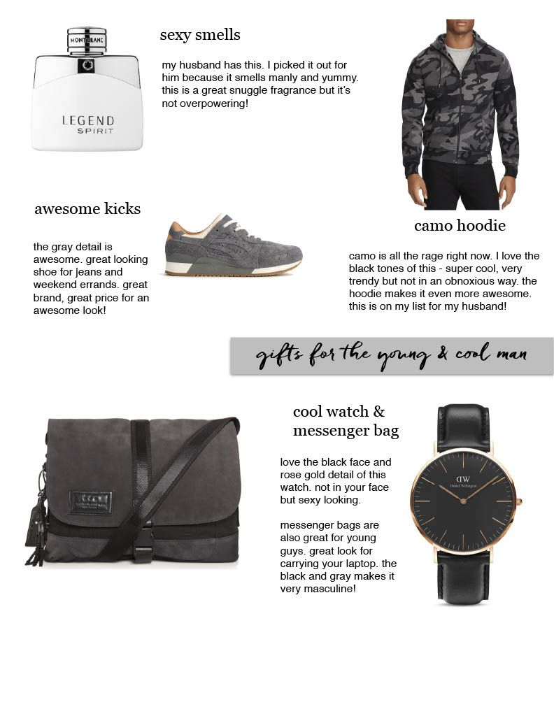 Gift Guide For Young Men