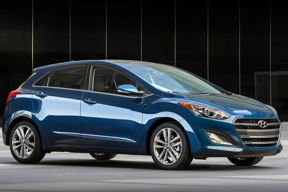 New Review 2016 Hyundai Elantra GT Release Front Side View