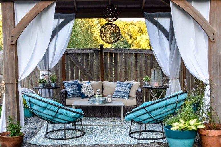 Outdoor Living Room Reveal Outdoor Living Rooms Outdoor Living