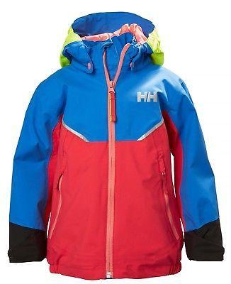 ea0191f837d5 Helly Hansen Kids Unisex K Shelter Jacket - Cayenne