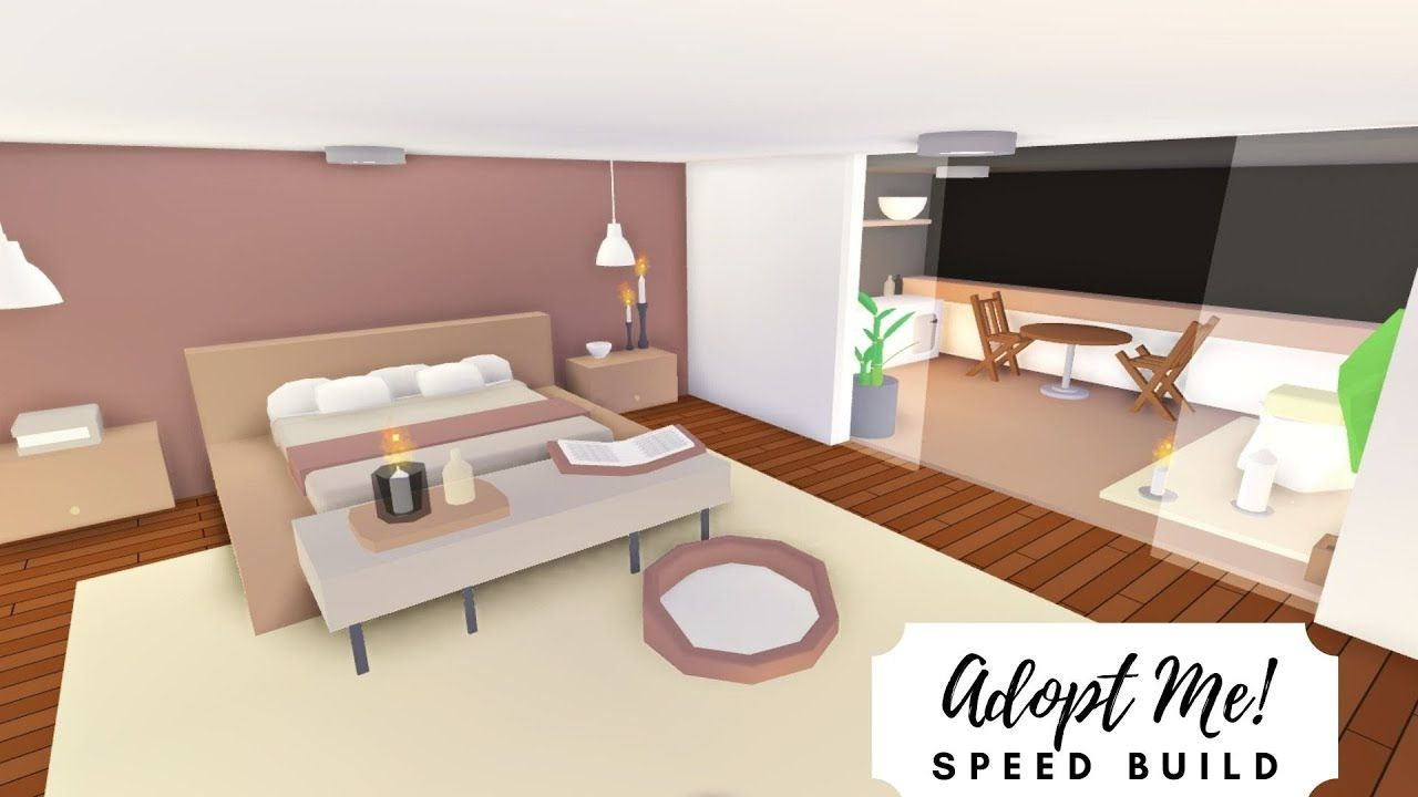Party House Modern Rosy Home Part 2 Roblox Adopt Me Youtube House Decorating Ideas Apartments Home Roblox Simple Bedroom Design