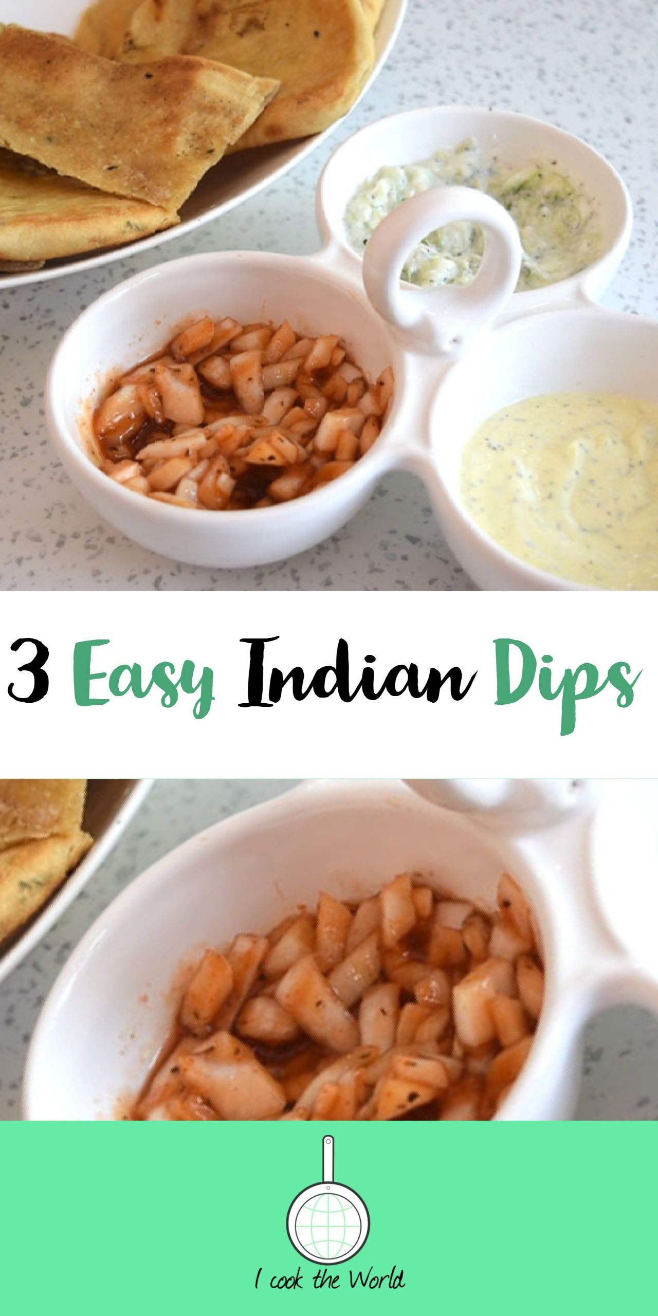 3 easy indian dips | recipe in 2018 | connie cooked, or at least