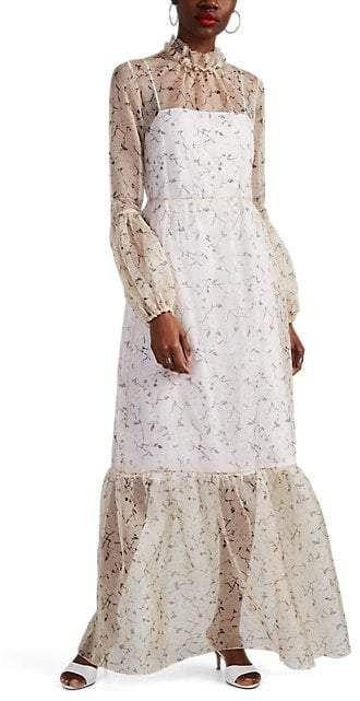 BY. Bonnie Young Floral Silk Organza Maxi Dress | Buy dress