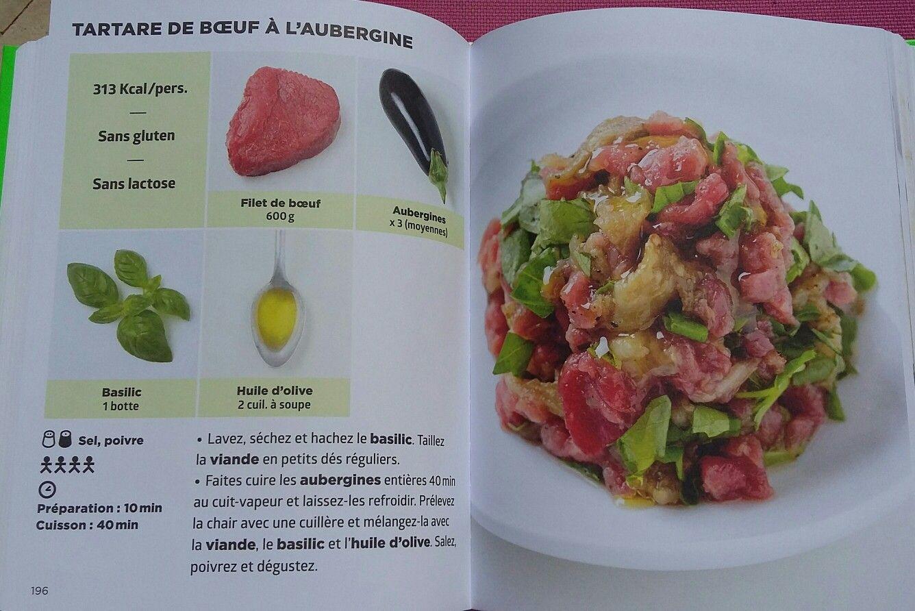 Tartare De Boeuf A L Aubergine Recette Cuisine Simplissime Repas