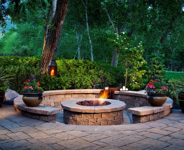 Ways For Chilling Out In Your Backyard This Summer Fireplace - Creative backyard ideas