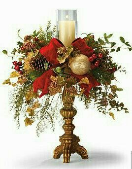 Going to make this arreglos florales pinterest paz - Centros florales navidenos ...