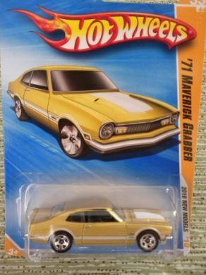 Hot Wheels 1971 Ford Maverick Grabber Die Cast Hot Wheels Ford