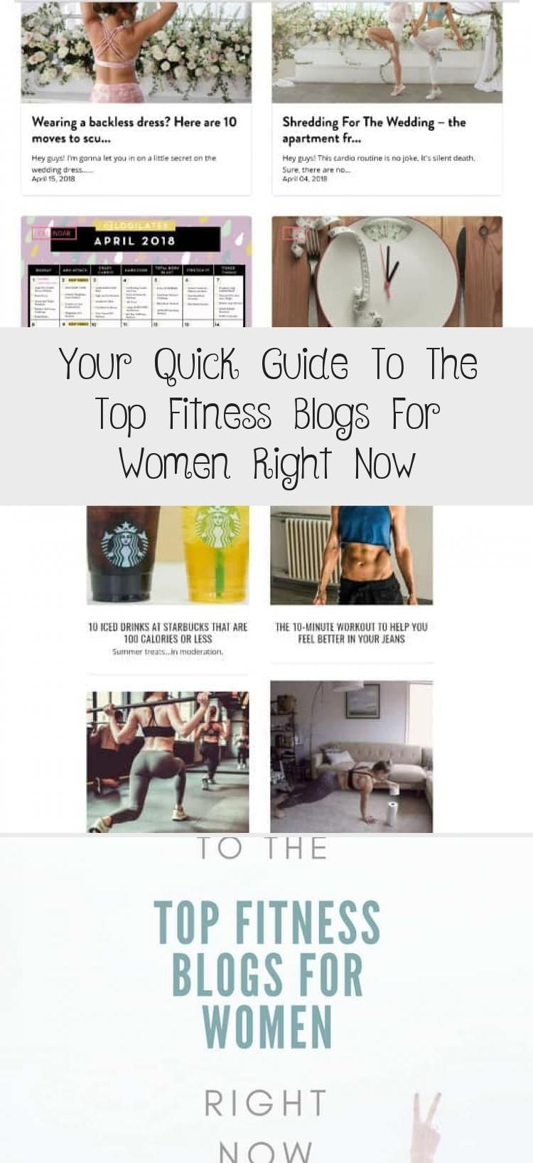 Your Quick Guide To The Top Fitness Blogs For Women Right Now - health and diet fitness -  Your Simp...
