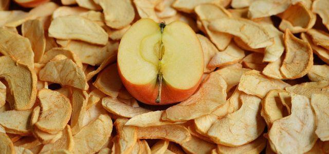 Apfelchips selber machen: so verwertest du alte Äpfel #Äpfelverwerten